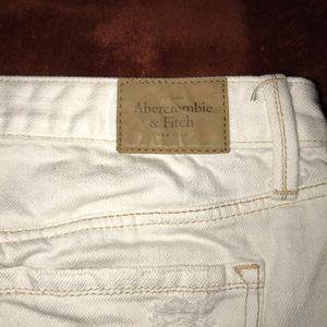 Brand new ripped jean skirt